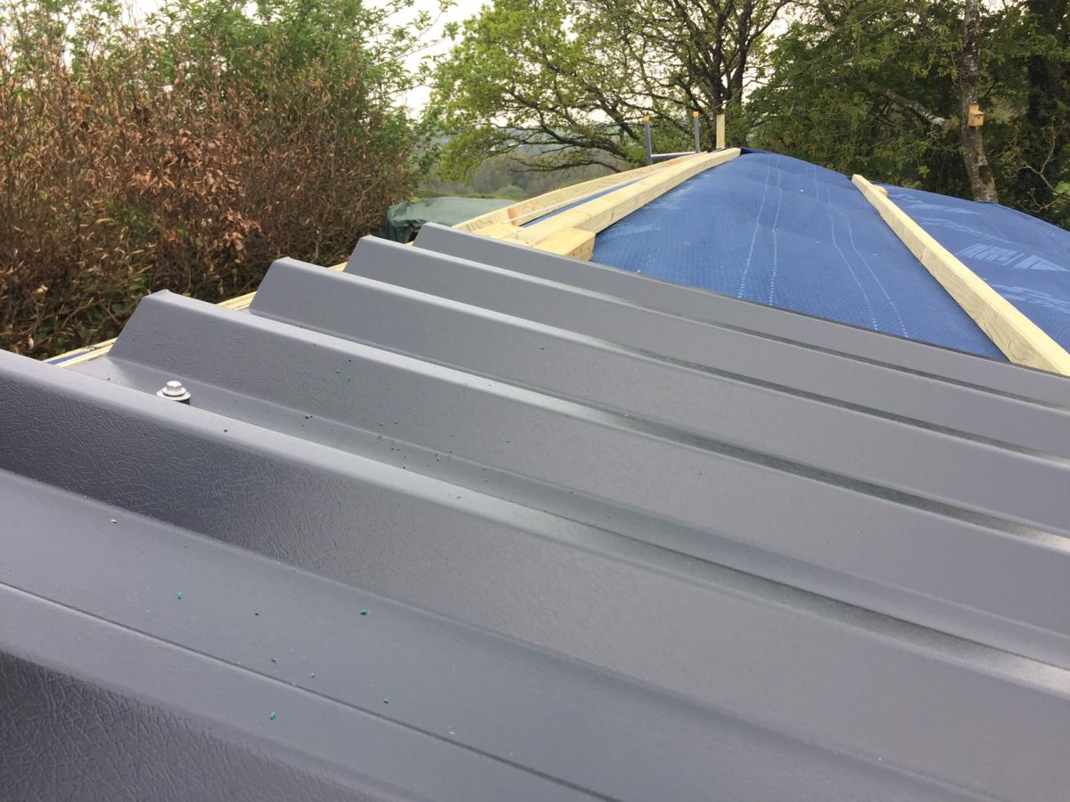 How I replaced my Shed Roof - Guest Blog.