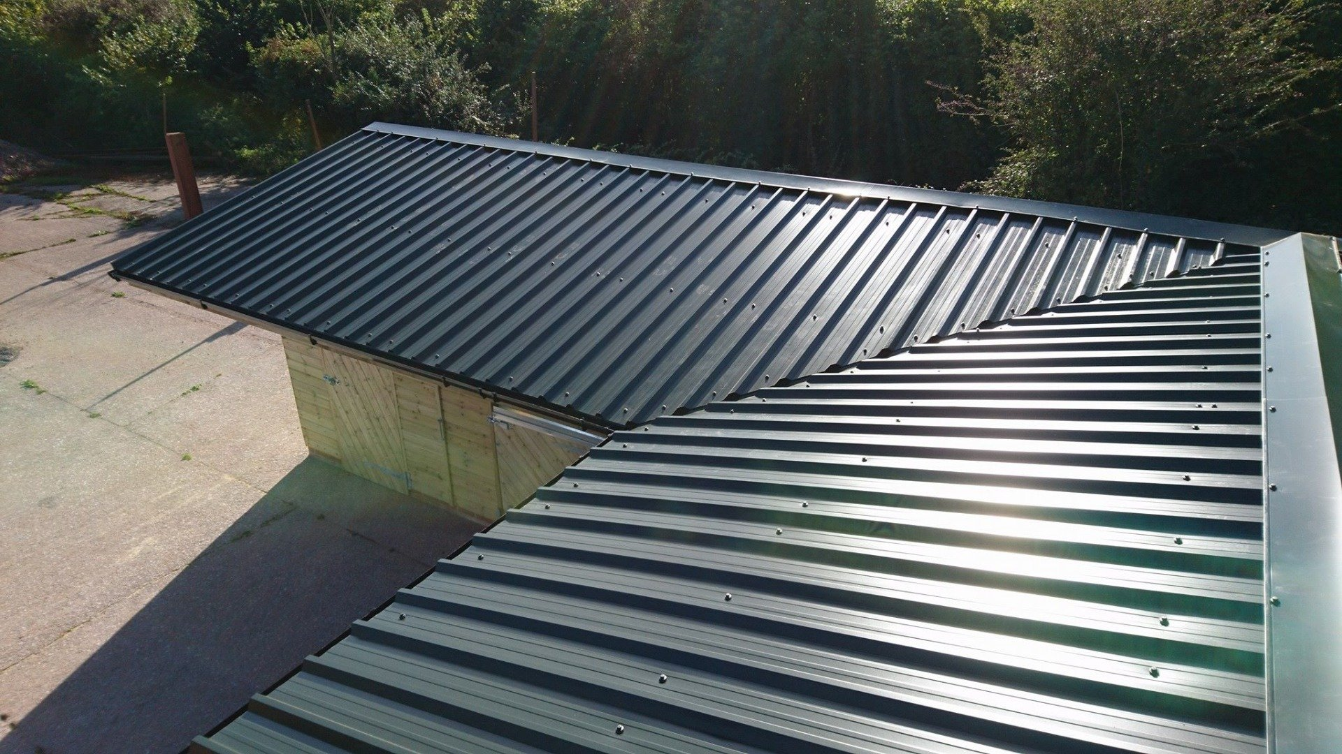 Curved Roofing Sheets Anti Condensation Roofing Sheets