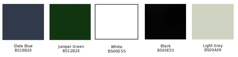 Polyester Paint Chart
