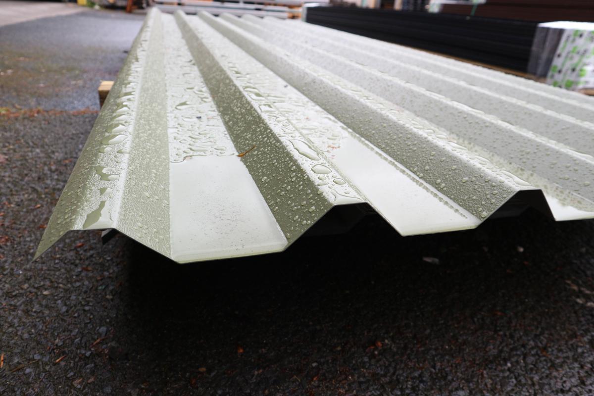 PVC Coated Sheet In Rain