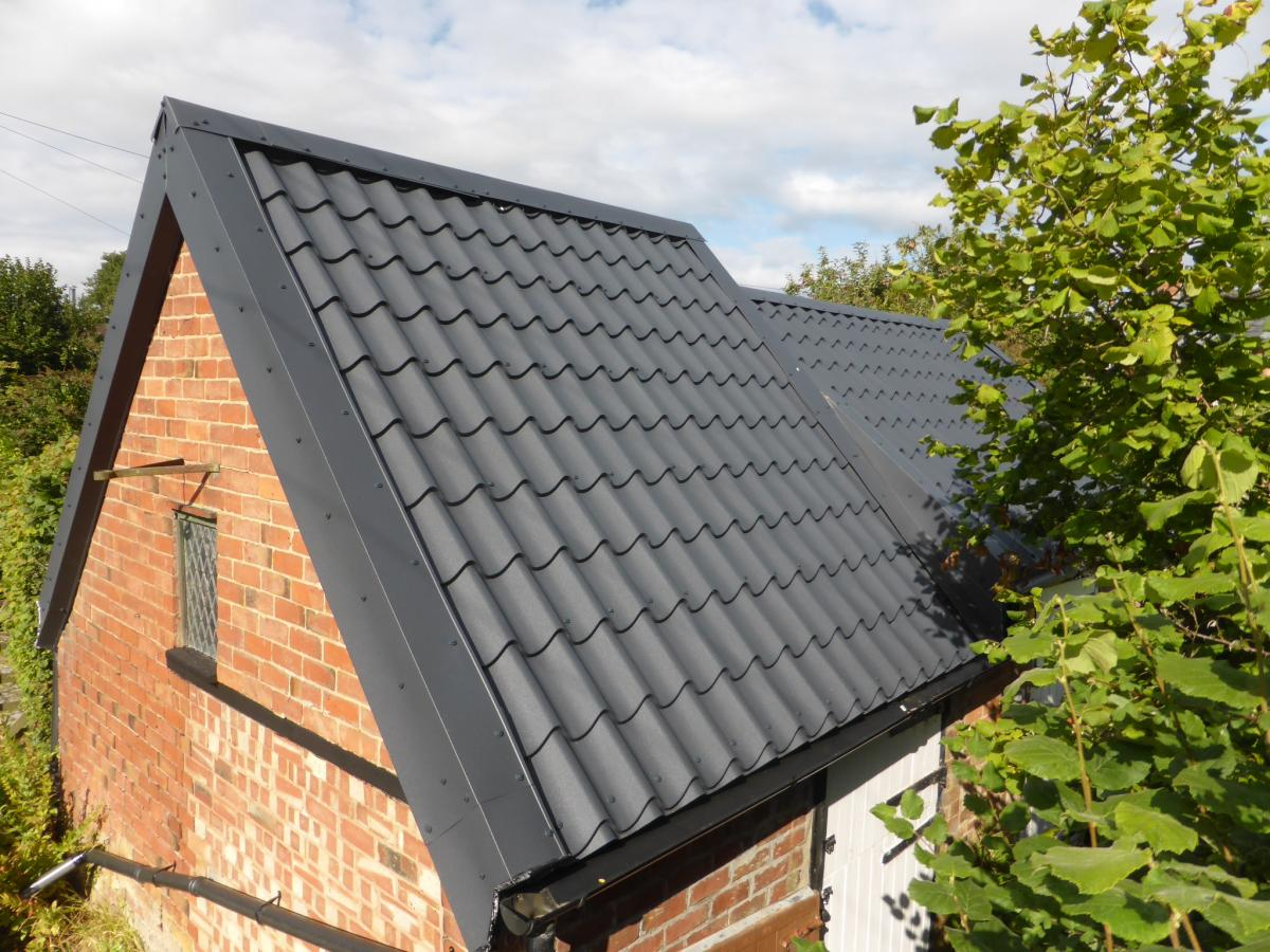 Will my new Roofing Sheets look like Tiles