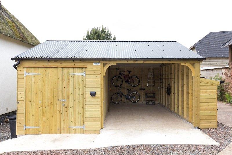 Shields Buildings bespoke timber buildings in North Tawton, Devon.