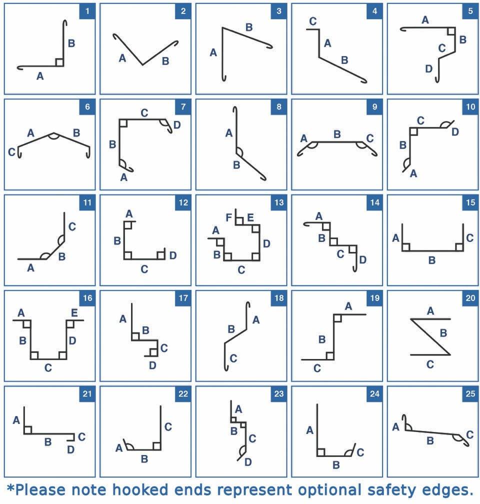 Flashings diagram
